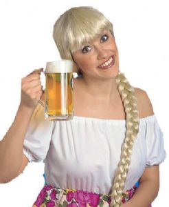 Bavarian Blonde Plait Wig